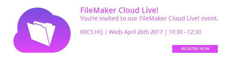 FileMaker event