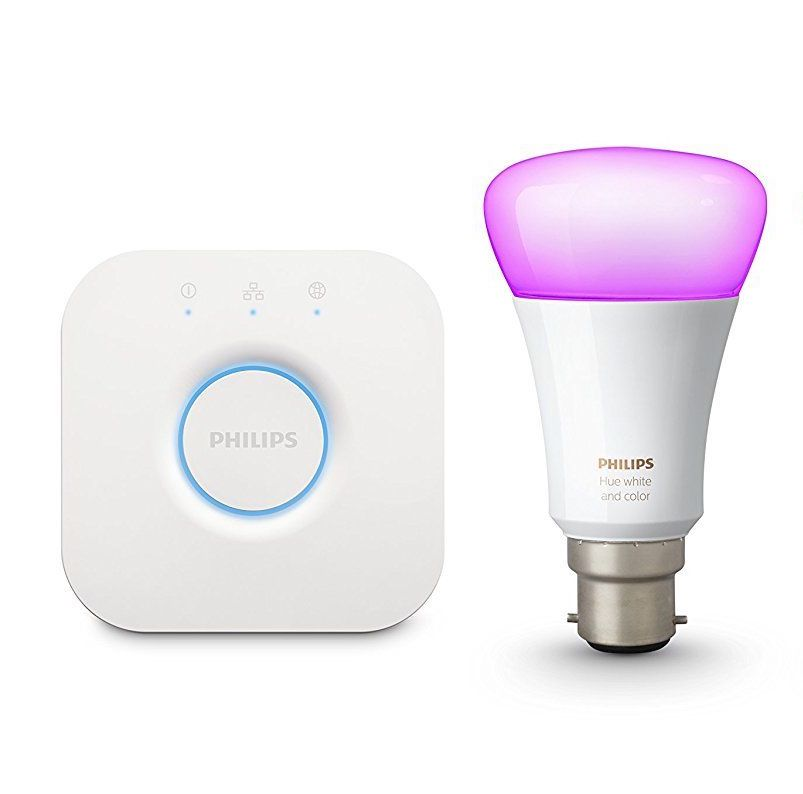 Hue White & Colour Ambience Starter Kit UK B22 v3