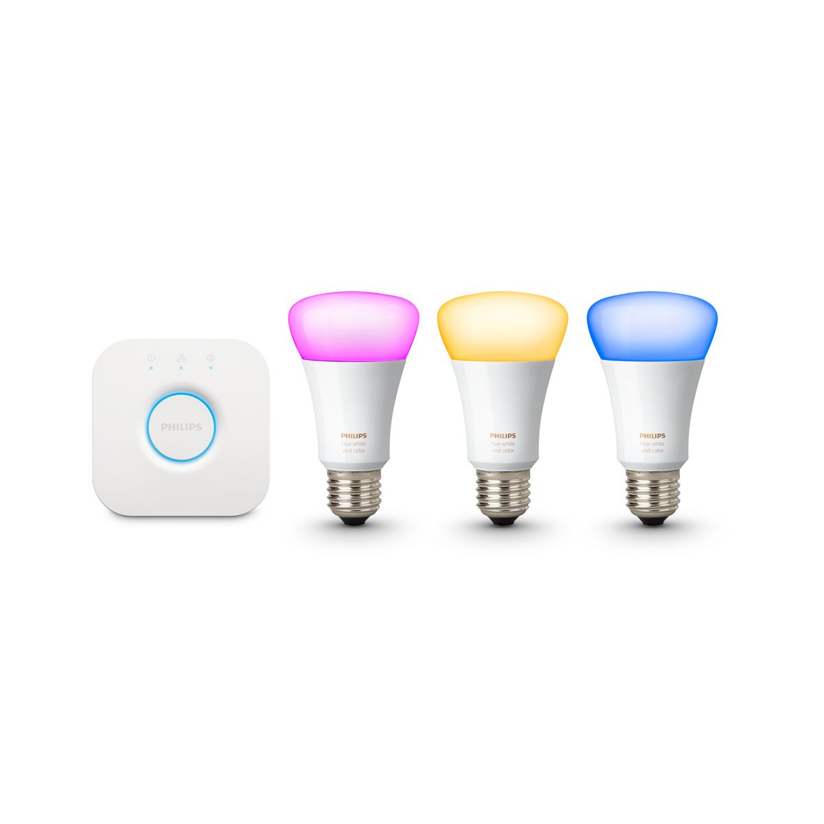 Hue White & Colour Ambience Starter Kit UK E27 v3