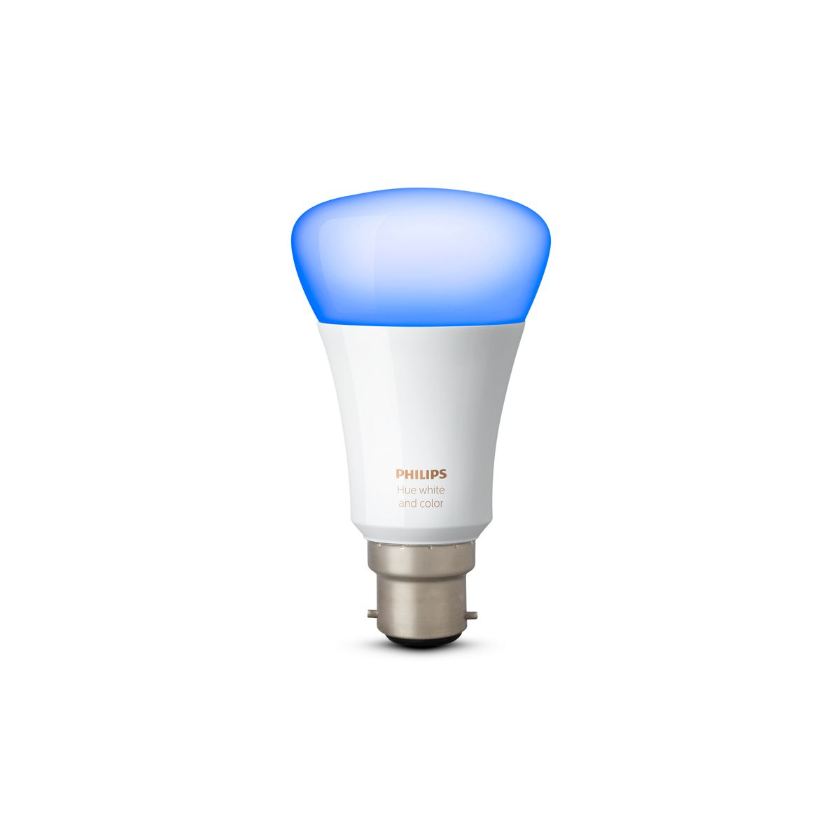 Hue White and Colour Ambience Single B22 v3