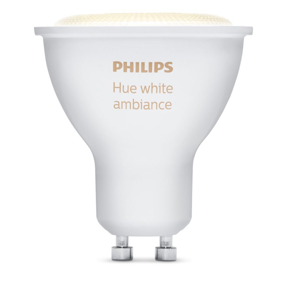 Hue White Ambience Single Bulb GU10