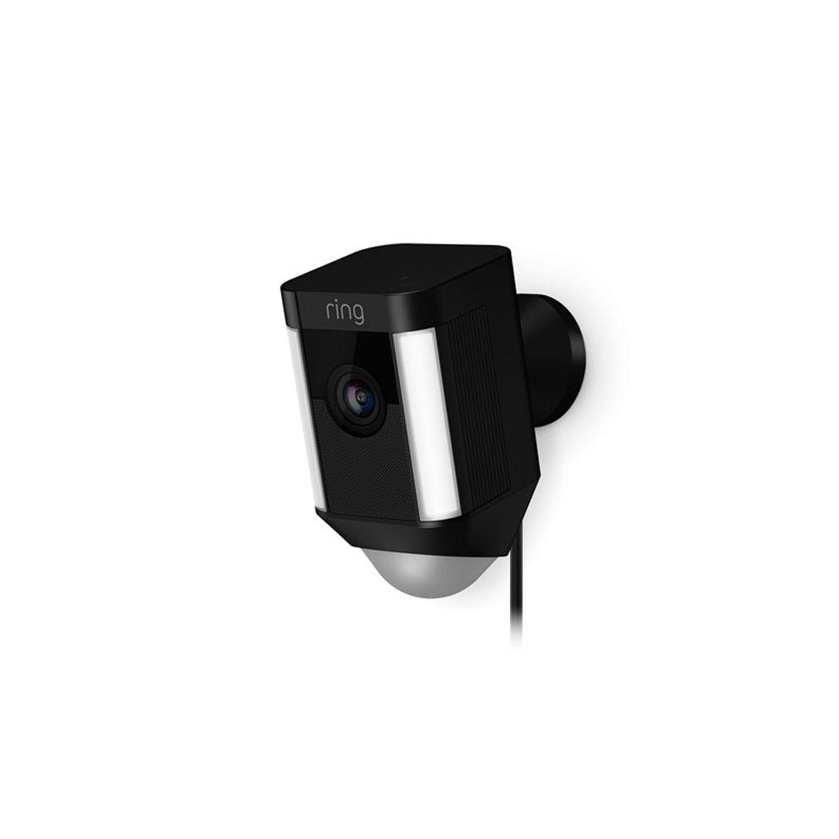 Ring Hardwired Spotlight Cam Black